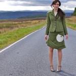 Ruth Morris Roobedo Harris tweed suit