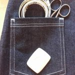 denim pocket detail